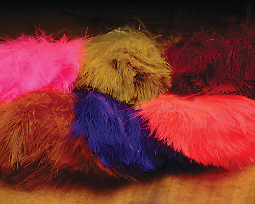 Finest quality marabou available on the market.